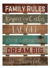 Family Rules, Pallet Art