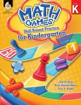 Math Games: Skill-Based Practice for Kindergarten - PDF Download [Download]