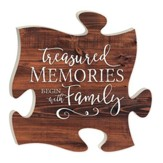 Treasured Memories Begin With Family, Puzzle Art
