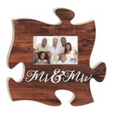 Mr. & Mrs., Puzzle Photo Frame