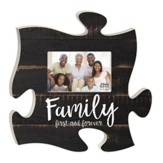 Family, First and Forever, Puzzle Photo Frame