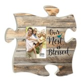 Our Nest Is Blessed, Puzzle Photo Frame