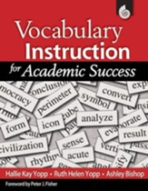 Vocabulary Instruction for Academic Success - PDF Download [Download]