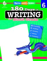 180 Days of Writing for Sixth Grade - PDF Download [Download]