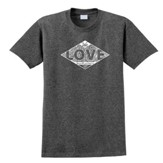 We Love First Shirt, Gray, X-Large
