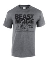 Beast Mode Shirt, Gray, Large