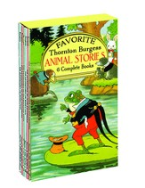 Favorite Thornton Burgess Animal Stories Boxed Set, 6 Books