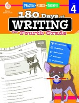 180 Days of Writing for Fourth Grade - PDF Download [Download]