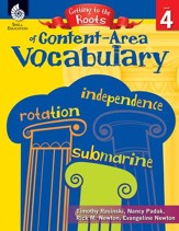 Getting to the Roots of Content-Area Vocabulary (Grade 4) - PDF Download [Download]