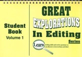 Great Explorations In Editing Series,  Student Book 1