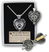 Paw Print Pet, Memorial Locket