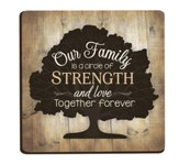 Our Family Is A Circle Of Strength and Love, Magnet