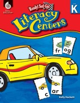 Ready! Set! Go! Literacy Centers: Level K - PDF Download [Download]