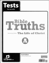 BJU Bible Truths Level A (Grade 7) Test Pack (Fourth Edition)