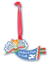 Let There Be Peace On Earth, Angel Ornament