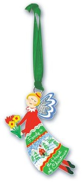 Family, The Heart Of Christmas, Angel Ornament