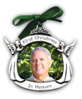 First Christmas In Heaven, Memorial Photo Ornament