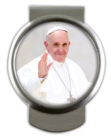 Pope Francis Money Clip
