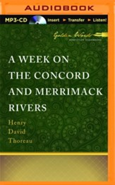 Week on the Concord and Merrimack Rivers - unabridged audio book on MP3-CD