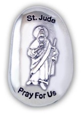 St. Jude, Pray For Us Pocket Stone
