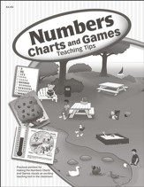 Numbers Chart/Game Book, Ages K4