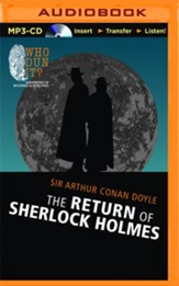 Return of Sherlock Holmes - unabridged audio book on MP3-CD