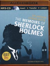 Memoirs of Sherlock Holmes - unabridged audio book on MP3-CD