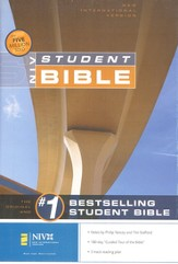 NIV Student Bible, Revised - Hardcover  1984