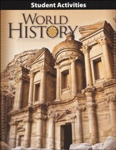 BJU World History Student Activities Manual, Grade 10, 4th Edition