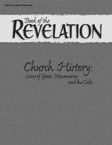 Abeka Book of the Revelation Quizzes & Tests Key