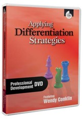Applying Differentiation Strategies Professional Development DVD - PDF Download [Download]