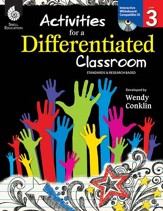 Activities for a Differentiated  Classroom: Level 3 - PDF Download [Download]