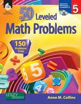 50 Leveled Math Problems Level 5 - PDF Download [Download]