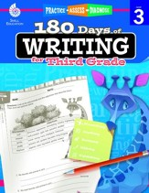 180 Days of Writing for Third Grade - PDF Download [Download]