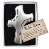 God Is Never More Than A Prayer Away Palm Cross