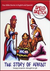 Speed Sketch Bible Stories: The Story of Advent
