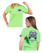 Adventure Awaits Shirt, Green, Small