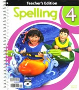 Spelling 4 Teacher's Edition with  CD-ROM, 2nd Edition