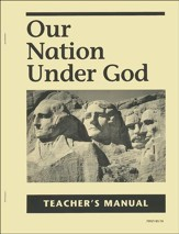 Our Nation Under God Teacher's  Manual, Grade 2