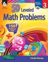 50 Leveled Math Problems Level 3 - PDF Download [Download]