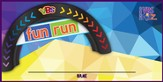 Jeff Slaughter VBS Fun Run 2015: Name Tag Stickers, Pack of 100