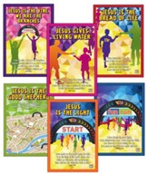 Jeff Slaughter VBS Fun Run 2015: Decorative Posters, Pack of 6