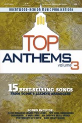 Top Anthems, Volume 3 (Choral Book)