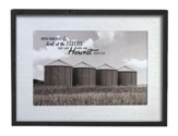 Open Your Eyes & Look At the Fields, Framed Art