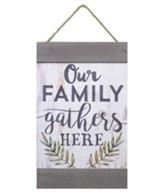 Our Family Gathers Here, Barnhouse Banner