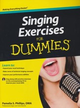 Singing Exercises For Dummies with  CD