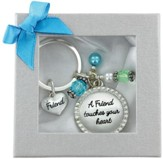 Friend Touches Your Heart Keychain