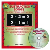 Audio Memory Subtraction Songs Workbook & CD Set