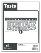 BJU Press Heritage Studies Tests, Grade 1, 3rd Edition