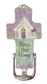 Bless This Home, Cross Door Knocker